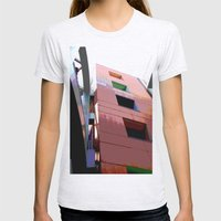 Blocks Womens Fitted Tee Ash Grey SMALL