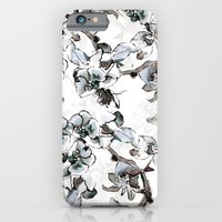 iPhone & iPod Case featuring Blue Orchid by Laura Irwin Art