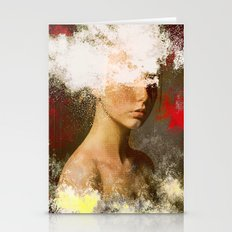 The Woman Without Look Stationery Cards