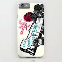 iPhone & iPod Case featuring Face your Fears by Mars Dorian