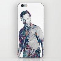 Rick Grimes iPhone & iPod Skin