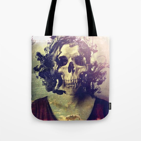 Miss Skull Tote Bag