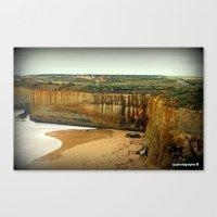 Gigantic Limestone Cliff… Canvas Print