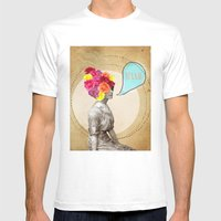 Collage Love - Miss Lady… Mens Fitted Tee White SMALL