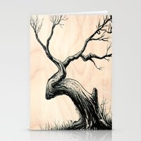 Tree In Bloom  Stationery Cards