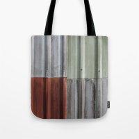 Corrugated Iron Tote Bag