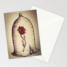 The Rose and the Bell Stationery Cards