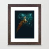 Catstronaut Framed Art Print