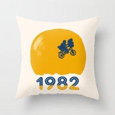 1982 Throw Pillow