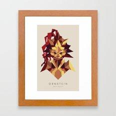 Ornstein the Dragonslayer - Dark Souls Framed Art Print