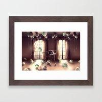 LIBRA from the dancing zodiac Framed Art Print
