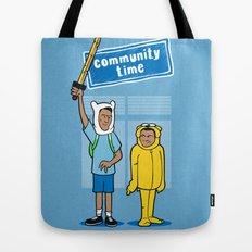 Community Time! Tote Bag