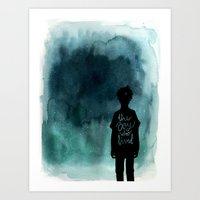 the boy Art Print
