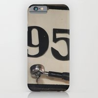 iPhone & iPod Case featuring 95 Coffee by redlinedesign®