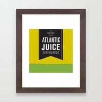 Atlantic Juice Framed Art Print