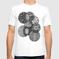 Sharpie Circles Mens Fitted Tee White SMALL