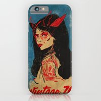iPhone & iPod Case featuring vintage 76 (wicked) by Eric Bonhomme