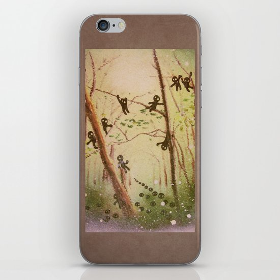 little spirits iPhone & iPod Skin