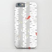 Birch Birds iPhone 6 Slim Case