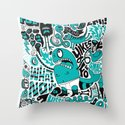 Foe! Throw Pillow