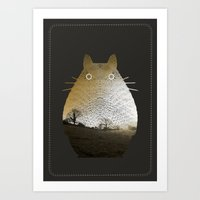 My Neighbor Art Print