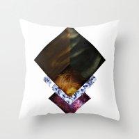 Nebula Life Throw Pillow