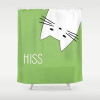 Hiss Shower Curtain