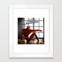 The Flash Dance Framed Art Print