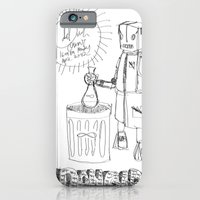iPhone & iPod Case featuring Danger. [SKETCH] by David Nuh Omar