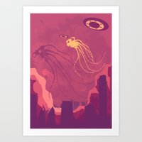They Are Here! Art Print