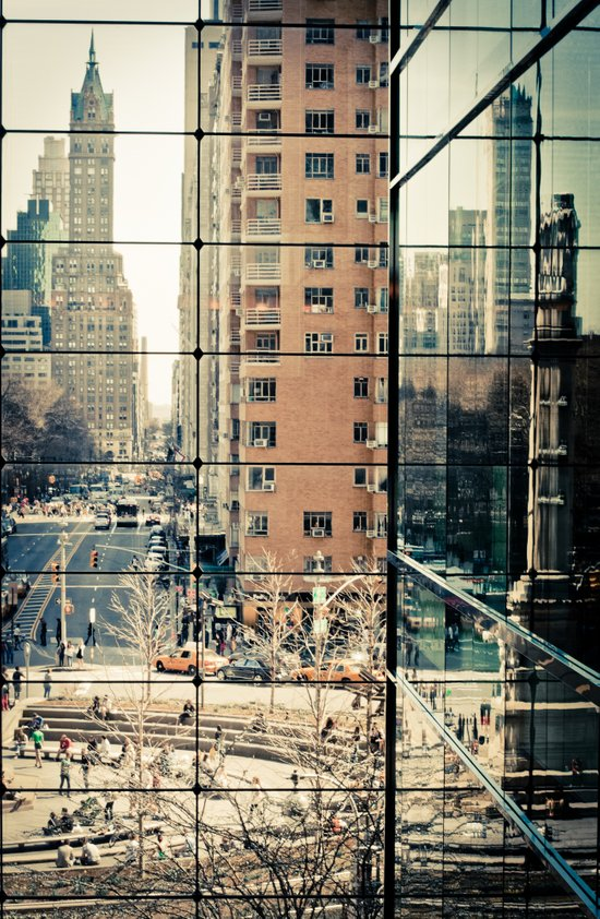 Columbus Circle NYC Art Print