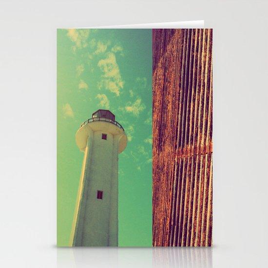 lighthouse Stationery Card