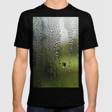 Upside Down Landscapes Mens Fitted Tee Black SMALL
