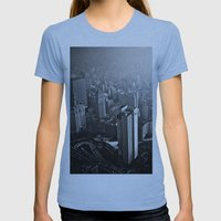 What Is To Come:  We Hav… Womens Fitted Tee Athletic Blue SMALL