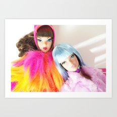 Technicolour Art Print
