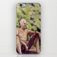 Papa, miss you! iPhone & iPod Skin