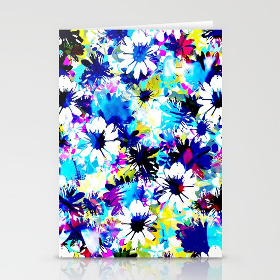 Floral 2 Stationery Card
