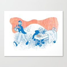 Freud and Halsted Canvas Print
