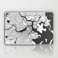 Boston Map Gray Laptop & iPad Skin