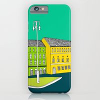 iPhone & iPod Case featuring CITY CENTRE // TOWN by bluebutton studio