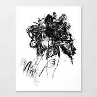 FlightMinded B&W Canvas Print