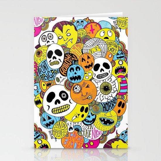 Halloween Print Stationery Card
