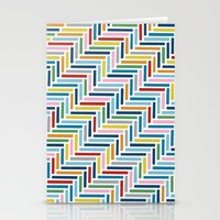 Herringbone 45 Colour Stationery Cards