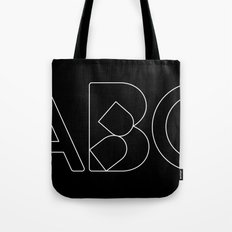 Collapsed Tote Bag