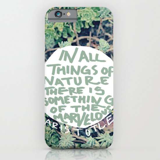 Aristotle: Nature iPhone & iPod Case