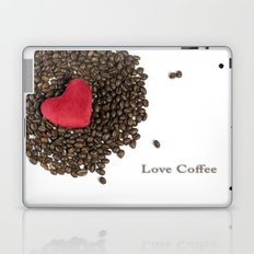 Love Coffee Laptop & iPad Skin