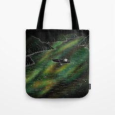 The Space Ship Tote Bag