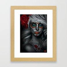 Catrina 2 - Illustration Framed Art Print