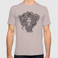 Snake Charmer Mens Fitted Tee Cinder SMALL