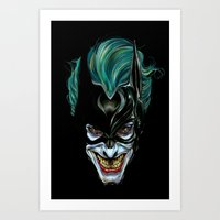 Joker - Darkest Knight  Art Print